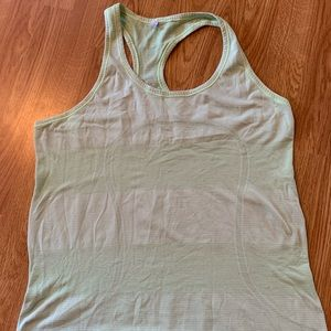 Lululemon Light Green Racerback Tank